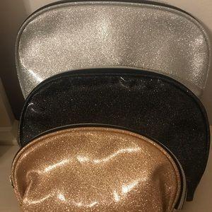 Handbags - 3pc makeup bag set